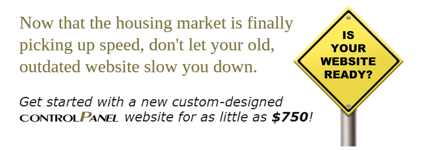 Get started with a new custom-designed controlPanel website for as little as $750!